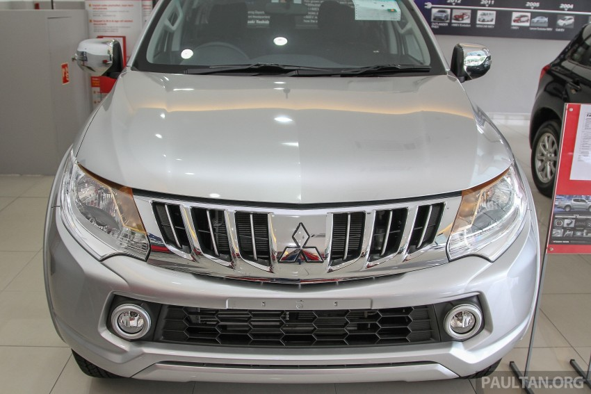 GALLERY: 2015 Mitsubishi Triton VGT in showroom! Image #334577