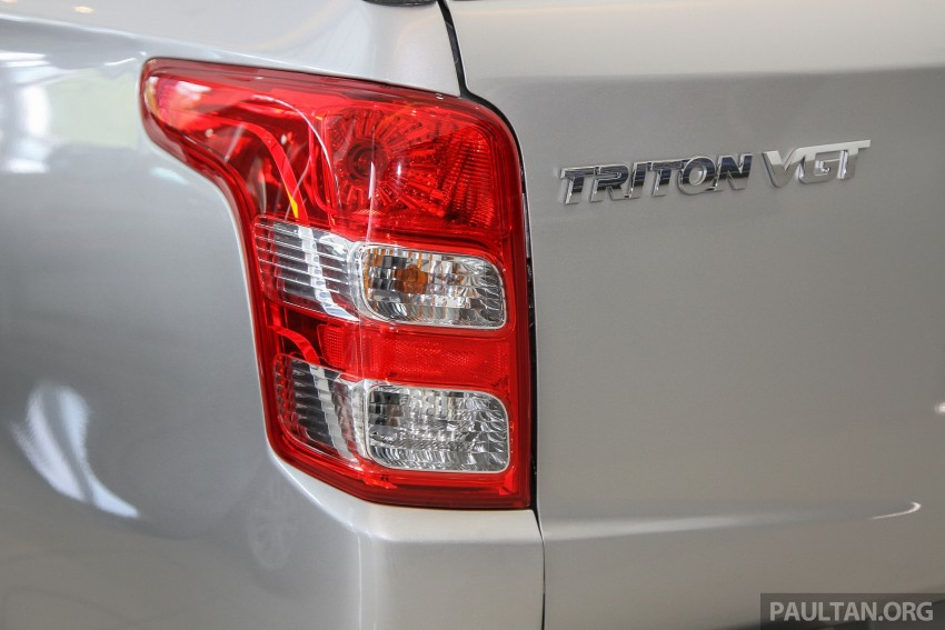 GALLERY: 2015 Mitsubishi Triton VGT in showroom! Image #334584