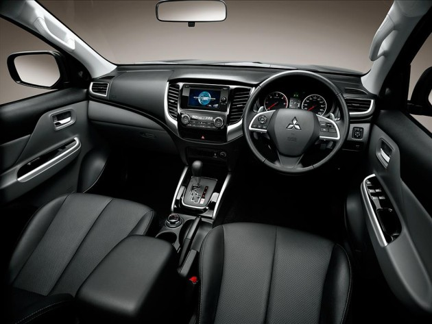 First Full Interior Pic Of M Sian Spec Mitsubishi Triton