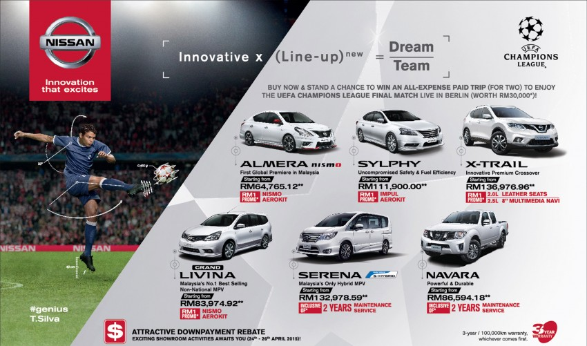Nissan UEFA Champions League Campaign, Round 2 – watch the finals live in Berlin, Germany! Image #330628