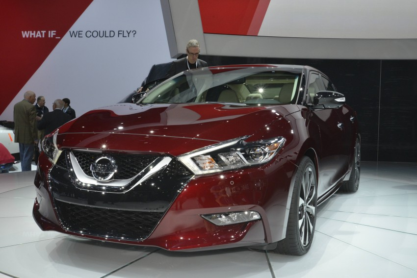 2016 Nissan Maxima debuts in New York with 300 hp Image #325463