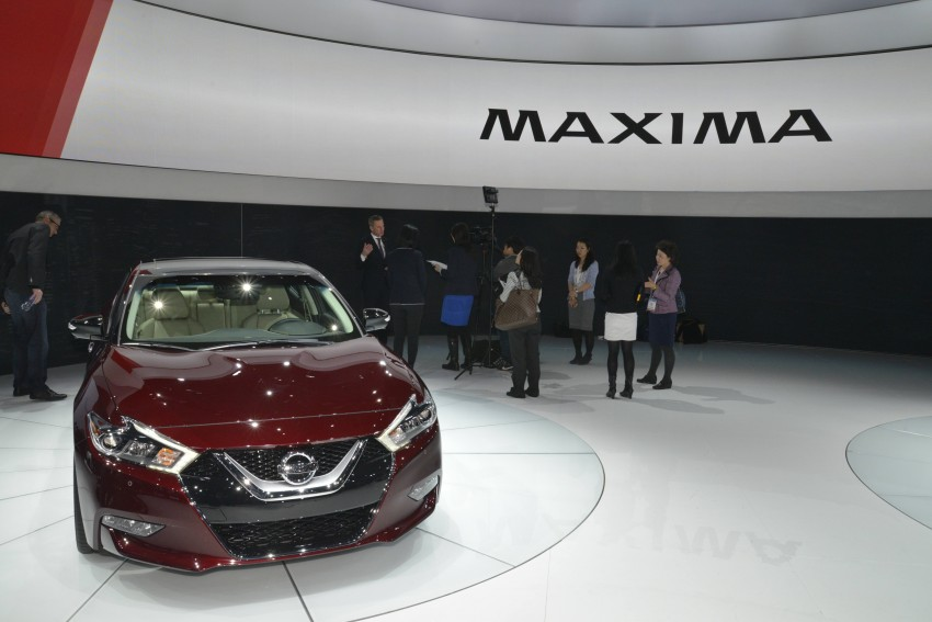 2016 Nissan Maxima debuts in New York with 300 hp Image #325464
