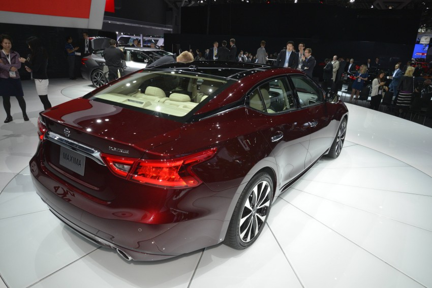 2016 Nissan Maxima debuts in New York with 300 hp Image #325465
