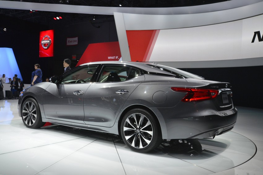 2016 Nissan Maxima debuts in New York with 300 hp Image #325467