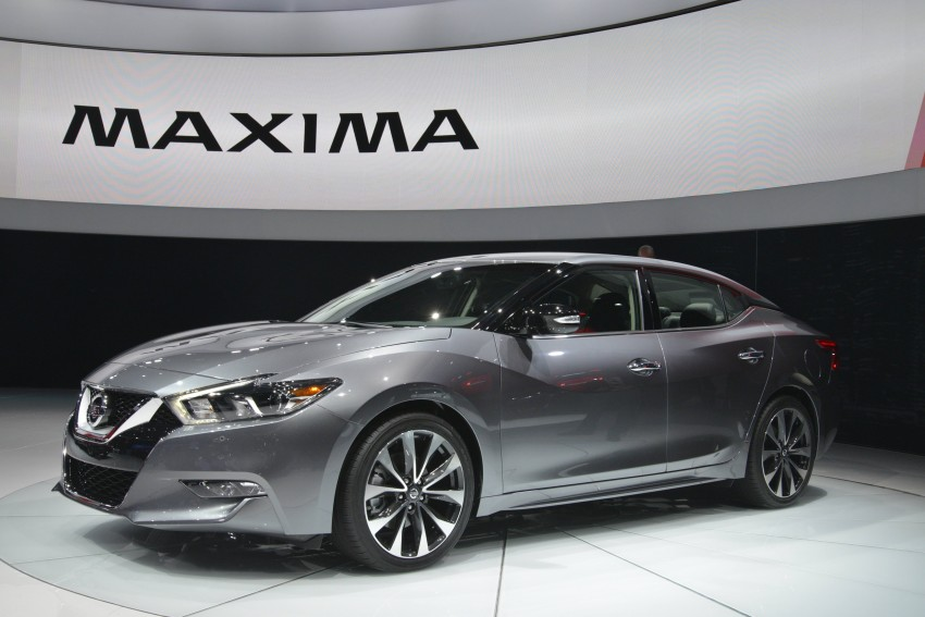 2016 Nissan Maxima debuts in New York with 300 hp Image #325470