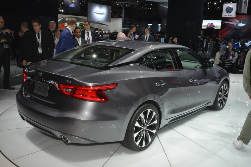 2016 Nissan Maxima debuts in New York with 300 hp Image #325475