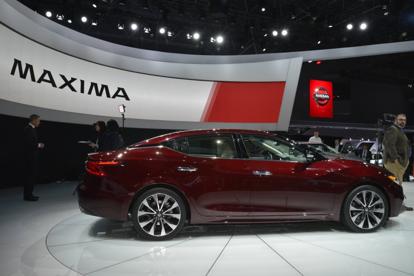 2016 Nissan Maxima debuts in New York with 300 hp Image #325476