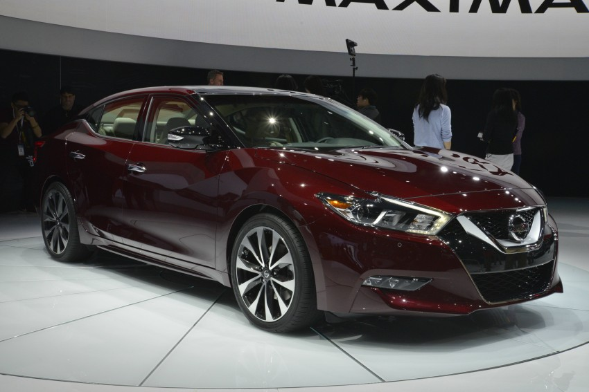 2016 Nissan Maxima debuts in New York with 300 hp Image #325484