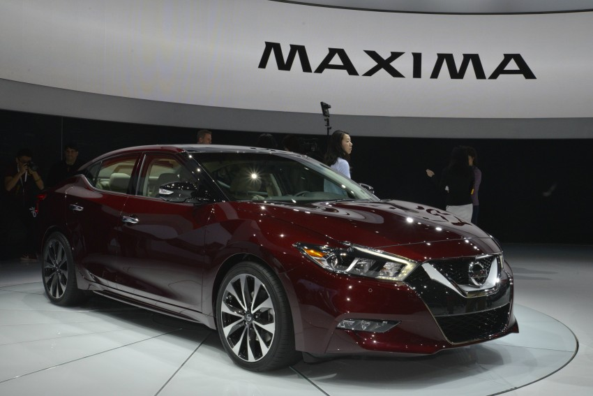 2016 Nissan Maxima debuts in New York with 300 hp Image #325486