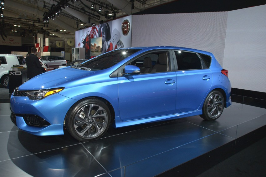 2016 Scion iM – Toyota Auris hatchback for the USA Image #325501