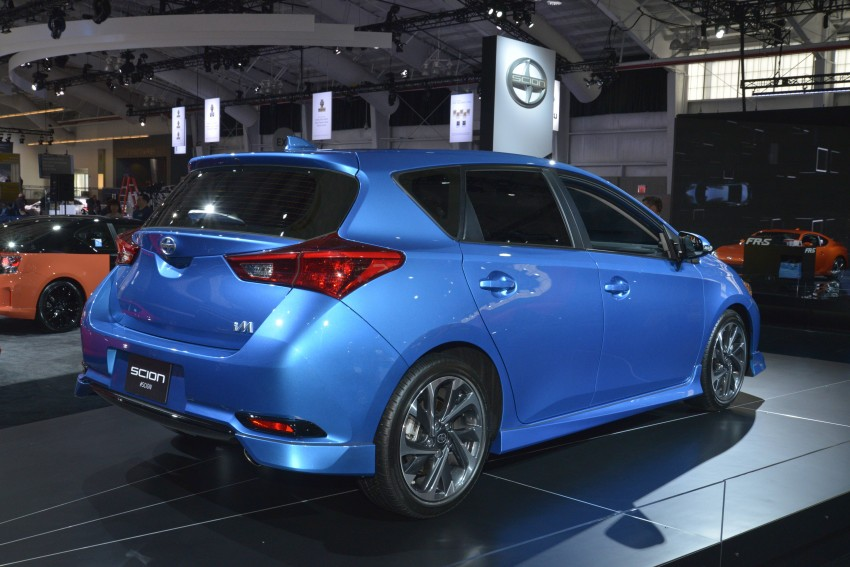 2016 Scion iM – Toyota Auris hatchback for the USA Image #325502