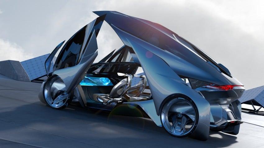 Shanghai 2015: Chevrolet FNR previews a mad future Image #331186
