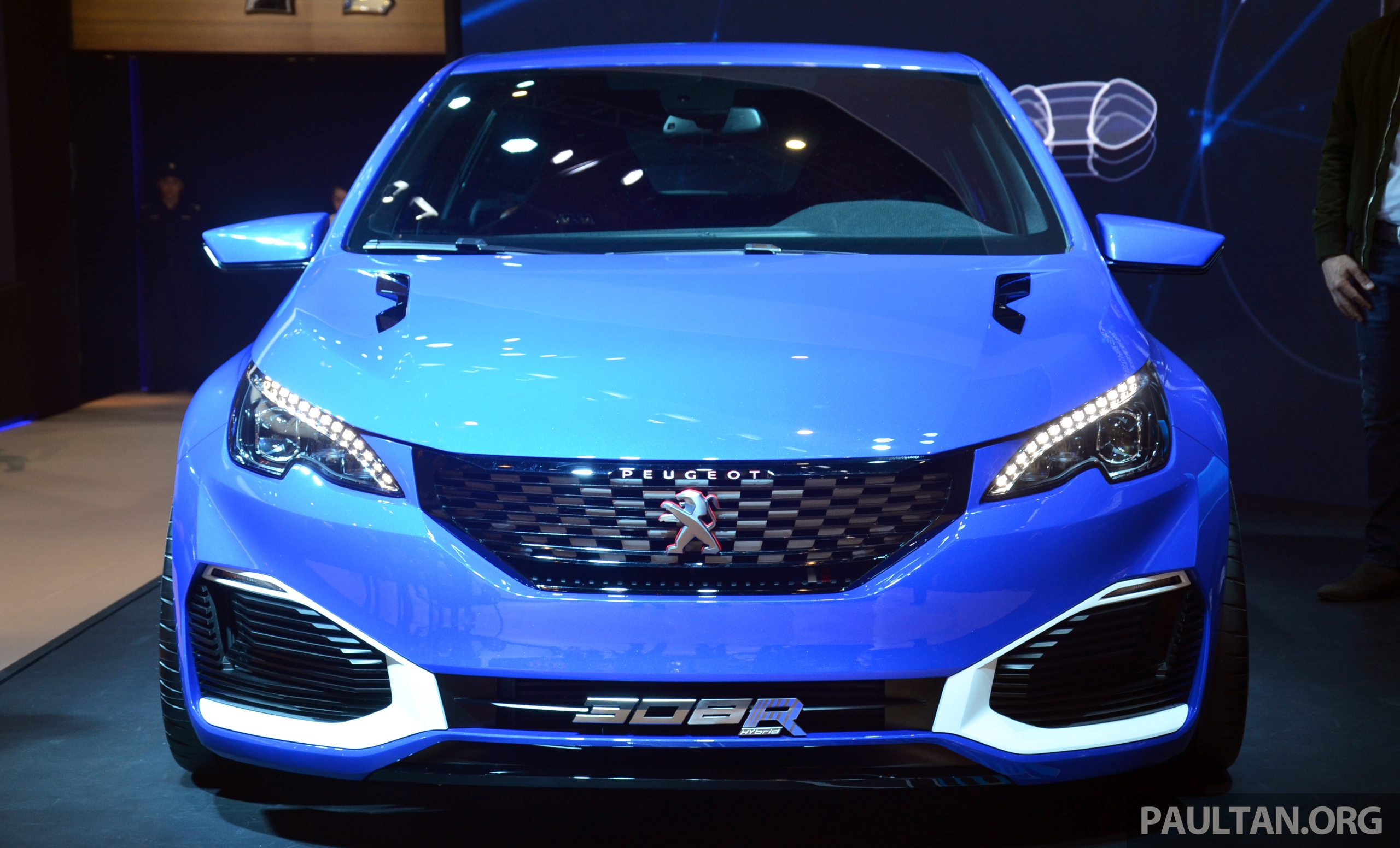 gallery peugeot 308 r hybrid at shanghai 2015. Black Bedroom Furniture Sets. Home Design Ideas