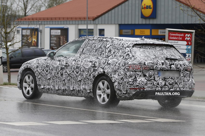SPYSHOTS: B9 Audi A4 Avant sighted for the first time Image #331016