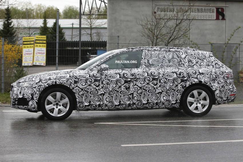 SPYSHOTS: B9 Audi A4 Avant sighted for the first time Image #331018