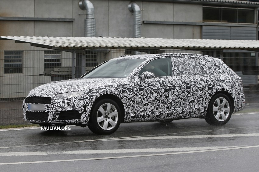 SPYSHOTS: B9 Audi A4 Avant sighted for the first time Image #331019
