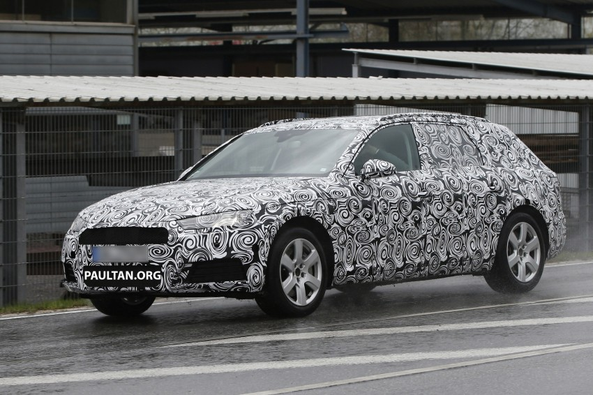 SPYSHOTS: B9 Audi A4 Avant sighted for the first time Image #331020