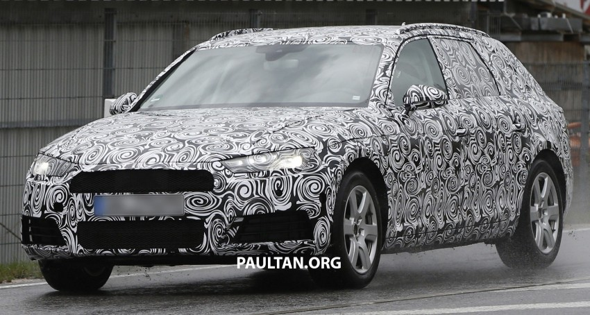 SPYSHOTS: B9 Audi A4 Avant sighted for the first time Image #331021