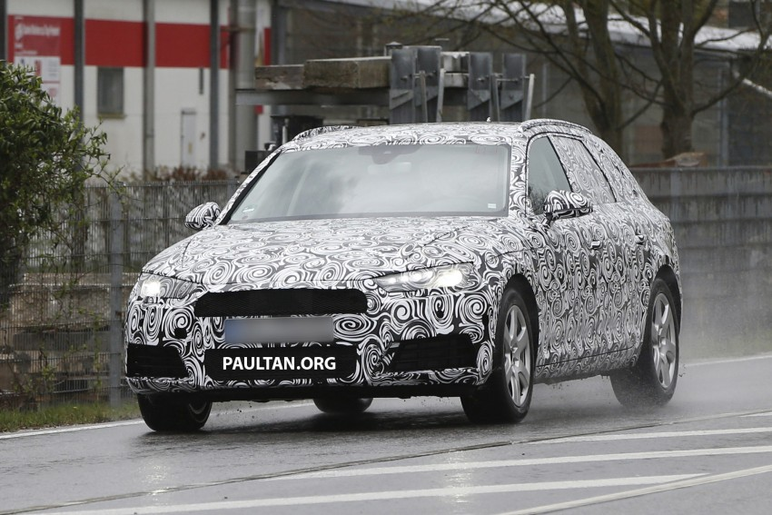 SPYSHOTS: B9 Audi A4 Avant sighted for the first time Image #331022