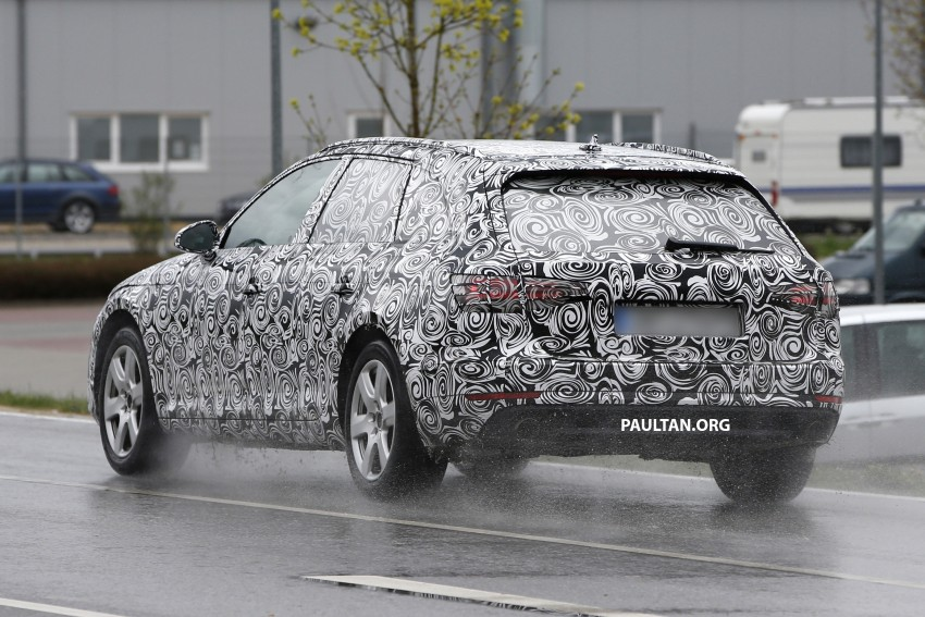 SPYSHOTS: B9 Audi A4 Avant sighted for the first time Image #331023