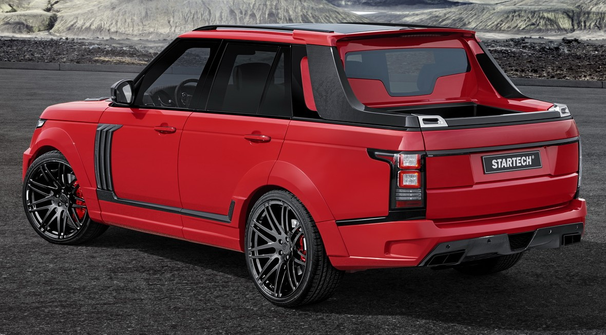 Range Rover Truck >> Startech Introduces Range Rover Based Pick Up Truck