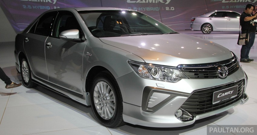 2015 Toyota Camry launched in Malaysia – new 6-spd 2.0E RM150k, 2.0G RM160k, 2.5 Hybrid RM175k Image #324642