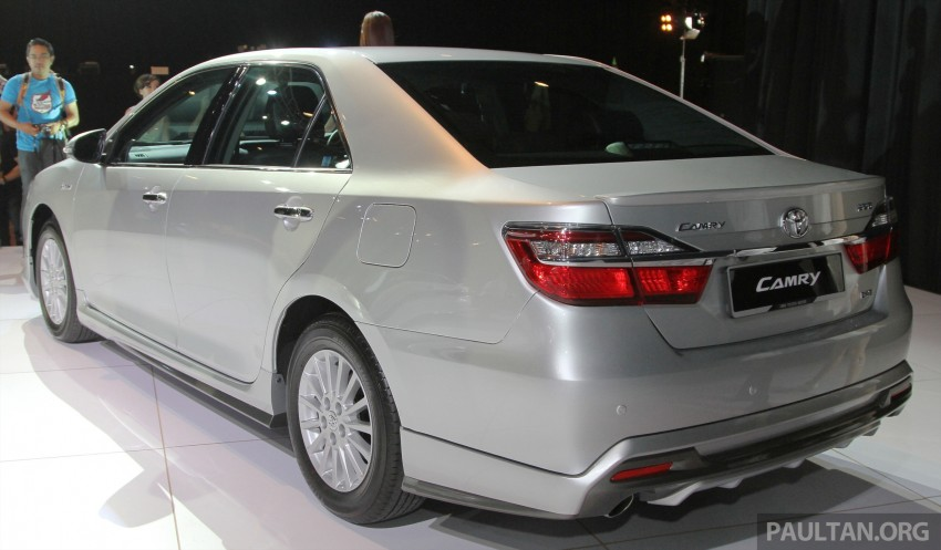 2015 Toyota Camry launched in Malaysia – new 6-spd 2.0E RM150k, 2.0G RM160k, 2.5 Hybrid RM175k Image #324643