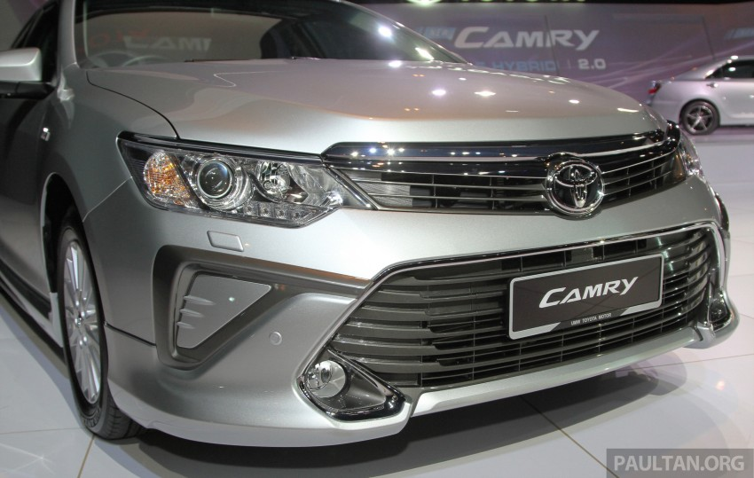 2015 Toyota Camry launched in Malaysia – new 6-spd 2.0E RM150k, 2.0G RM160k, 2.5 Hybrid RM175k Image #324645