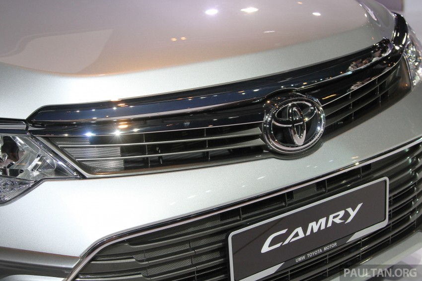 2015 Toyota Camry launched in Malaysia – new 6-spd 2.0E RM150k, 2.0G RM160k, 2.5 Hybrid RM175k Image #324647