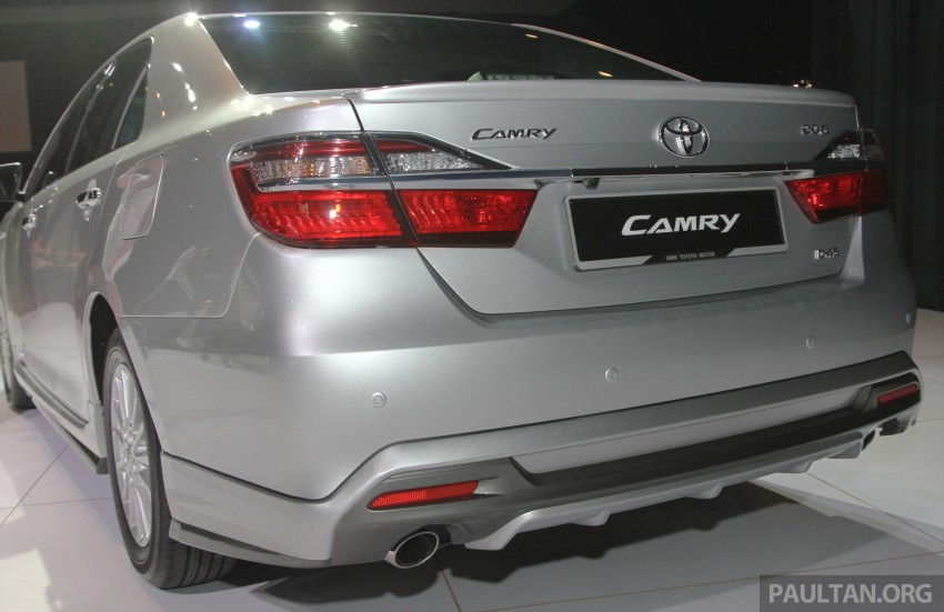 2015 Toyota Camry launched in Malaysia – new 6-spd 2.0E RM150k, 2.0G RM160k, 2.5 Hybrid RM175k Image #324656