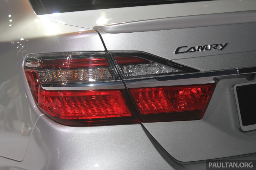 2015 Toyota Camry launched in Malaysia – new 6-spd 2.0E RM150k, 2.0G RM160k, 2.5 Hybrid RM175k Image #324659