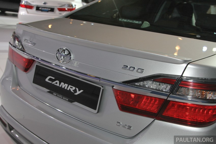 2015 Toyota Camry launched in Malaysia – new 6-spd 2.0E RM150k, 2.0G RM160k, 2.5 Hybrid RM175k Image #324660
