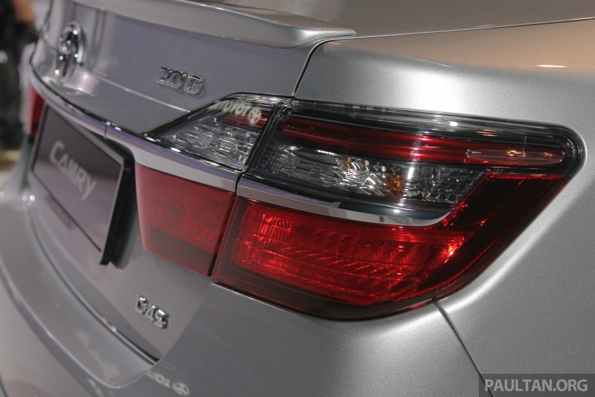 Camry 2018 Launch Malaysia >> 2015 Toyota Camry launched in Malaysia – new 6-spd 2.0E RM150k, 2.0G RM160k, 2.5 Hybrid RM175k ...