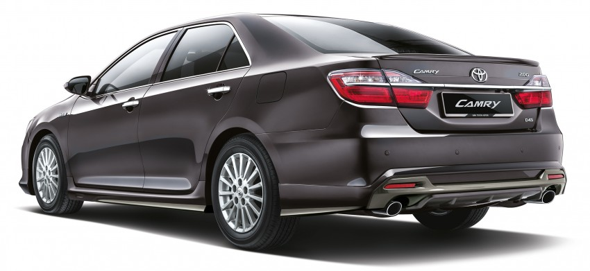 2015 Toyota Camry launched in Malaysia – new 6-spd 2.0E RM150k, 2.0G RM160k, 2.5 Hybrid RM175k Image #323930