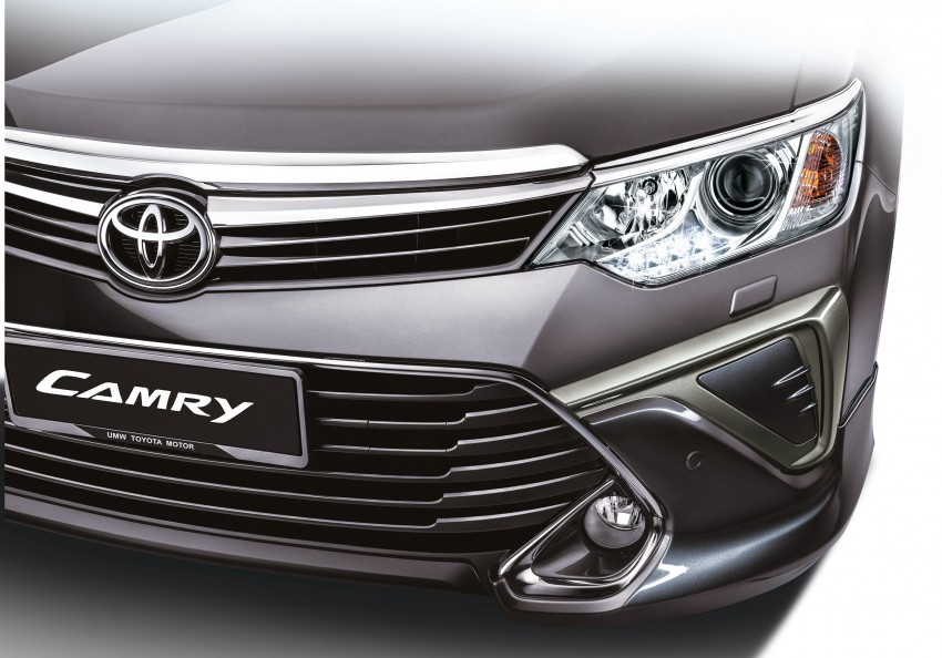 2015 Toyota Camry launched in Malaysia – new 6-spd 2.0E RM150k, 2.0G RM160k, 2.5 Hybrid RM175k Image #323932