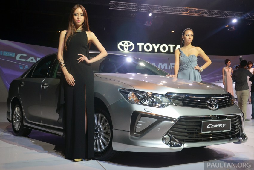 2015 Toyota Camry launched in Malaysia – new 6-spd 2.0E RM150k, 2.0G RM160k, 2.5 Hybrid RM175k Image #324066