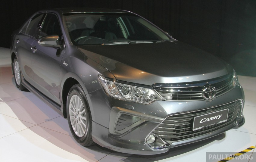 2015 Toyota Camry launched in Malaysia – new 6-spd 2.0E RM150k, 2.0G RM160k, 2.5 Hybrid RM175k Image #324676