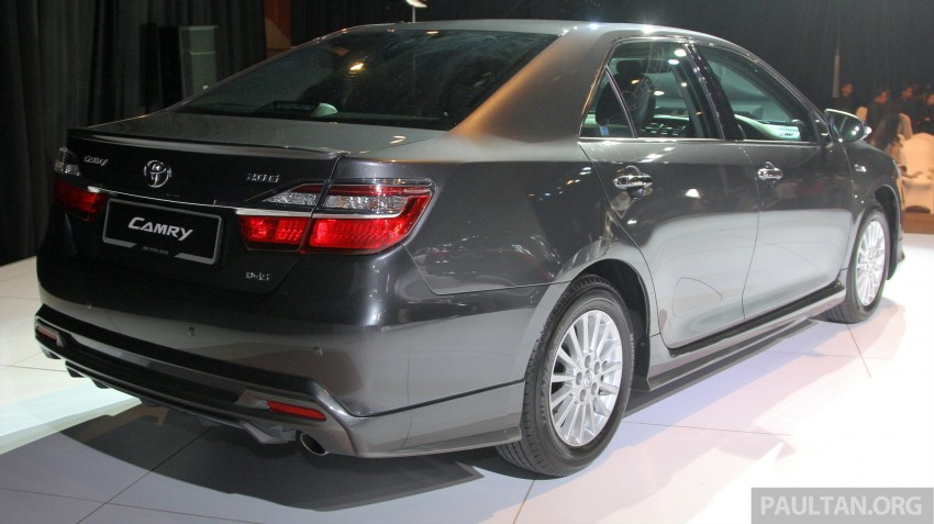 2015 Toyota Camry launched in Malaysia – new 6-spd 2.0E RM150k, 2.0G RM160k, 2.5 Hybrid RM175k Image #324677
