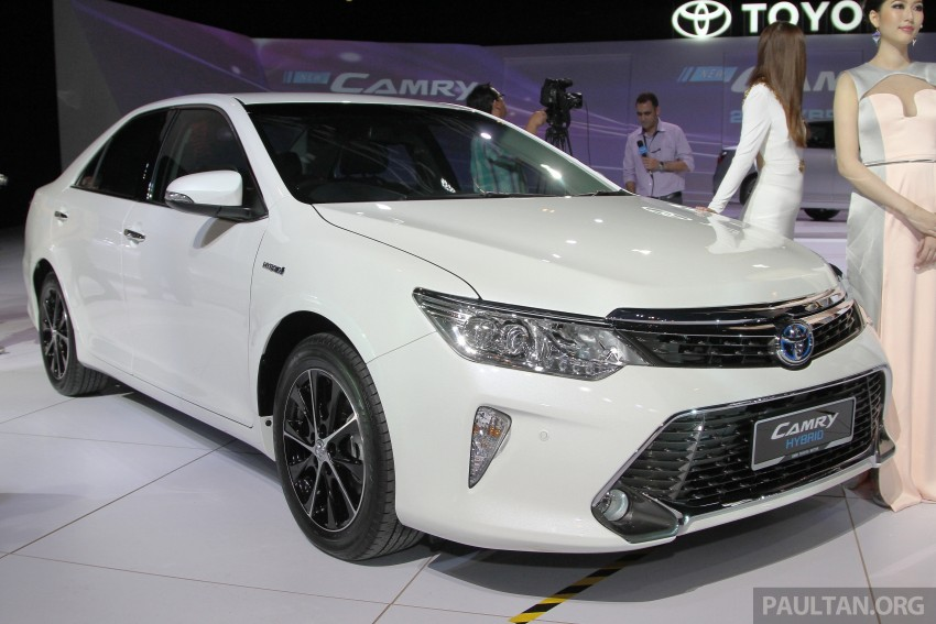 2015 Toyota Camry launched in Malaysia – new 6-spd 2.0E RM150k, 2.0G RM160k, 2.5 Hybrid RM175k Image #324679
