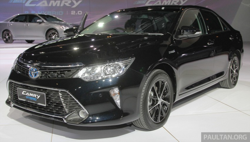 2015 Toyota Camry launched in Malaysia – new 6-spd 2.0E RM150k, 2.0G RM160k, 2.5 Hybrid RM175k Image #324680