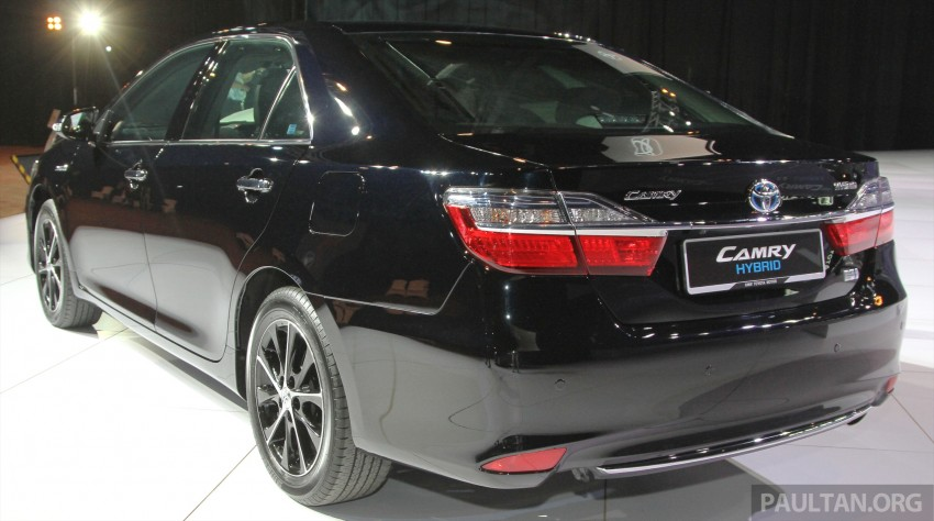 2015 Toyota Camry launched in Malaysia – new 6-spd 2.0E RM150k, 2.0G RM160k, 2.5 Hybrid RM175k Image #324681