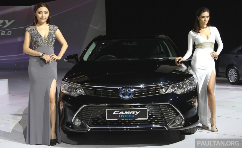 2015 Toyota Camry launched in Malaysia – new 6-spd 2.0E RM150k, 2.0G RM160k, 2.5 Hybrid RM175k Image #324706