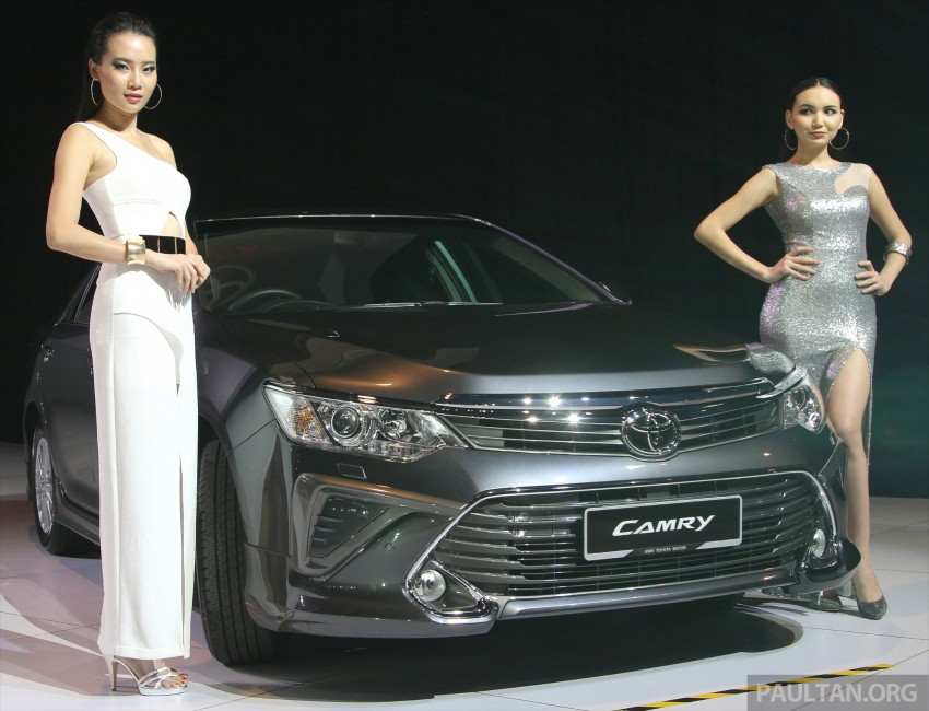 2015 Toyota Camry launched in Malaysia – new 6-spd 2.0E RM150k, 2.0G RM160k, 2.5 Hybrid RM175k Image #324709