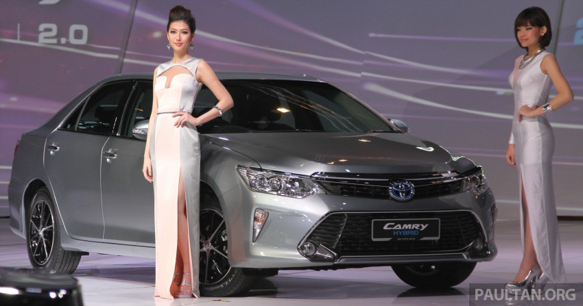 2015 Toyota Camry launched in Malaysia – new 6-spd 2.0E RM150k, 2.0G RM160k, 2.5 Hybrid RM175k Image #324712