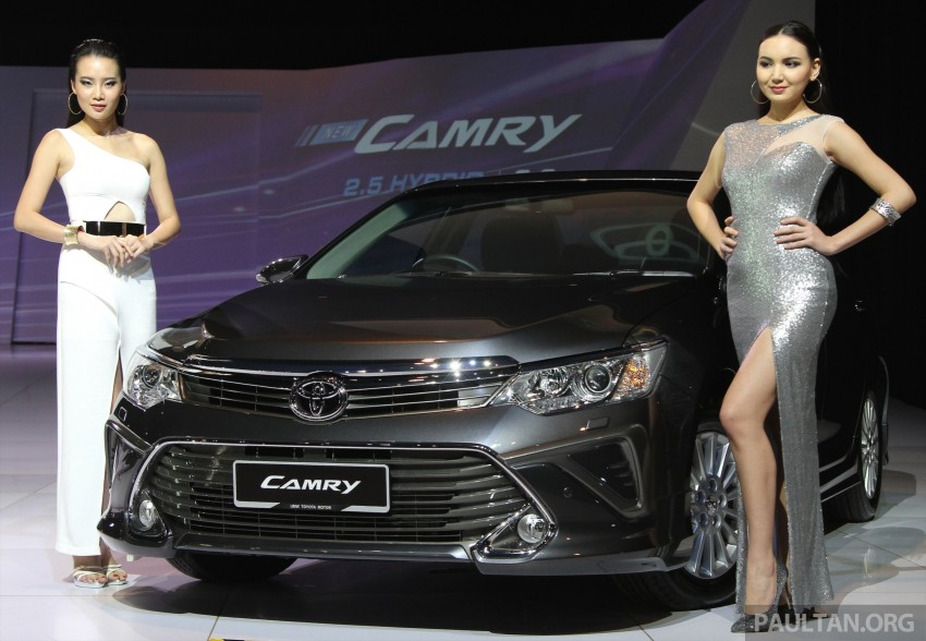 2015 Toyota Camry launched in Malaysia – new 6-spd 2.0E RM150k, 2.0G RM160k, 2.5 Hybrid RM175k Image #324713