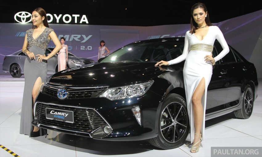 2015 Toyota Camry launched in Malaysia – new 6-spd 2.0E RM150k, 2.0G RM160k, 2.5 Hybrid RM175k Image #324714