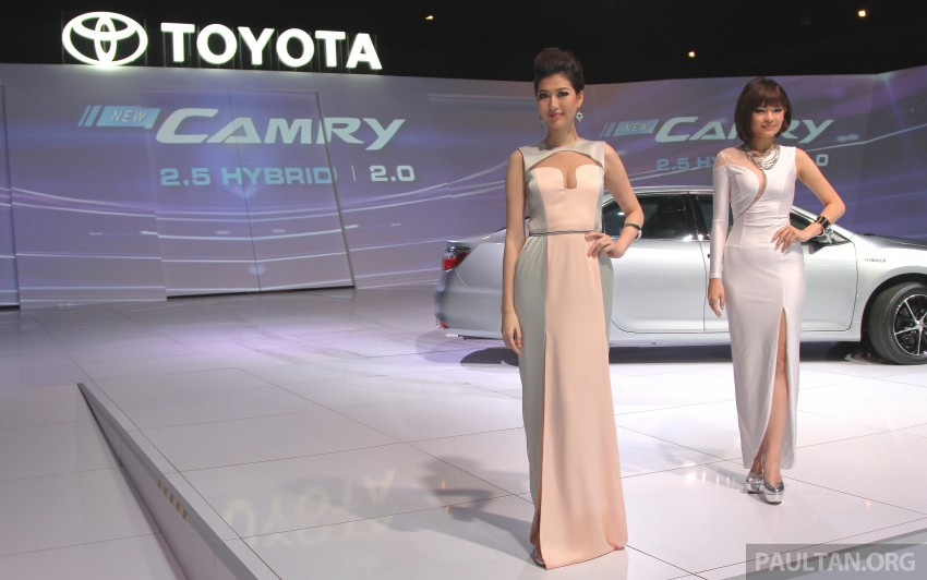 2015 Toyota Camry launched in Malaysia – new 6-spd 2.0E RM150k, 2.0G RM160k, 2.5 Hybrid RM175k Image #324717