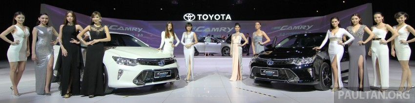 2015 Toyota Camry launched in Malaysia – new 6-spd 2.0E RM150k, 2.0G RM160k, 2.5 Hybrid RM175k Image #324721