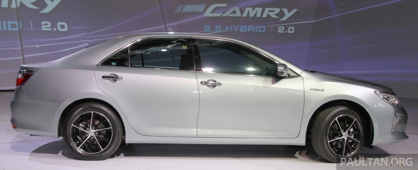 2015 Toyota Camry launched in Malaysia – new 6-spd 2.0E RM150k, 2.0G RM160k, 2.5 Hybrid RM175k Image #324586