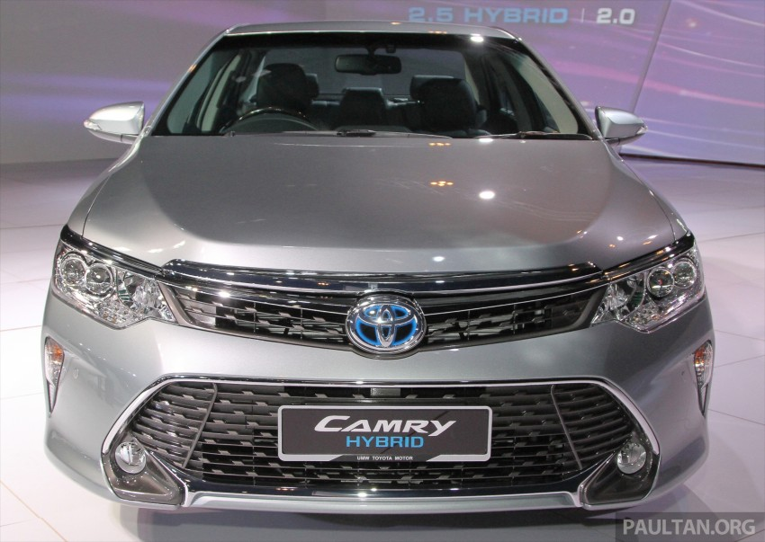 2015 Toyota Camry launched in Malaysia – new 6-spd 2.0E RM150k, 2.0G RM160k, 2.5 Hybrid RM175k Image #324565